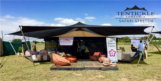 Tentickle. Safari Stretch Tents & eco TZ